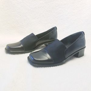 Aerosoles black leather loafer. Sz 6.5
